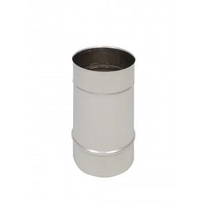 Längenelement 250 mm DN 200 einwandig Holetherm