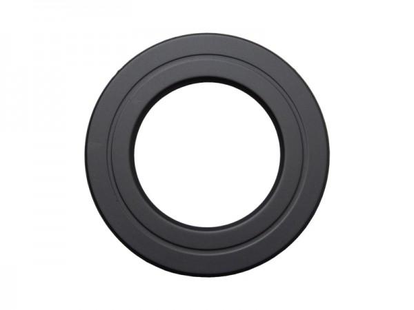 Rosette DN 150 schwarz