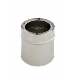 Längenelement 200 mm DN 150/200 doppelwandig Holetherm