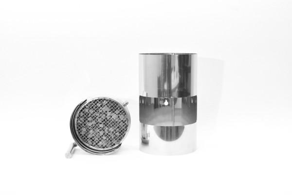 ABCAT® Holzrauchfilter Ø 130 Länge 1000 mm