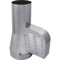 Rauchsauger DN 150 mm zum Einstecken