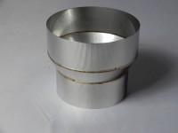120 - 150 mm Ofenrohr Reduzierung/Erweiterung Edelstahl