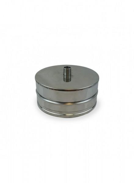 Deckel DN 150/200 doppelwandig ISOTUBE Plus