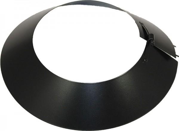 Regenkragen DN 200 mm Edelstahl ISOTUBE Plus schwarz
