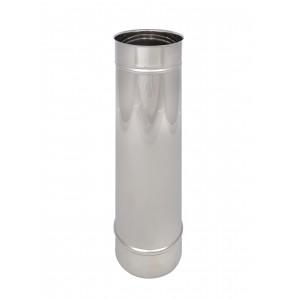 Längenelement 500 mm DN 150 einwandig Holetherm