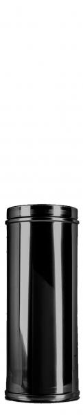 Längenelement 300 mm DN 150 doppelwandig ISOTUBE Plus schwarz