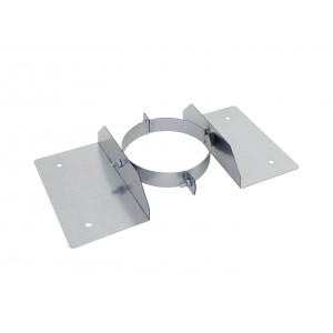 Holetherm Kamin-/ Ofenrohr Konzentrisch Dachbefestigungsbügel DN 150 mm edelstahl