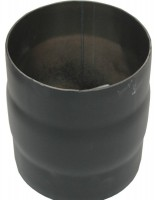 Doppelmuffe DN 150 schwarz