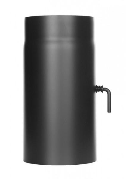 Längenelement 250 mm DN 150 mit Drosselklappe einwandig