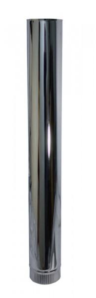 Längenelement 1000 mm DN 100 Edelstahl einwandig