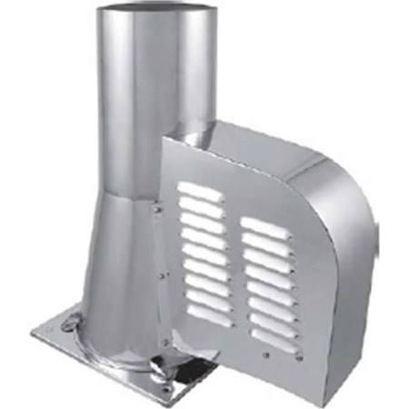 Rauchsauger DN 150 mm mit Bodenplatte