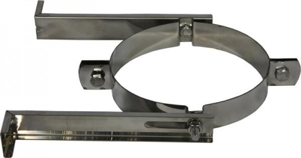 Wandhalterung DN 200/250 mm Edelstahl Holetherm