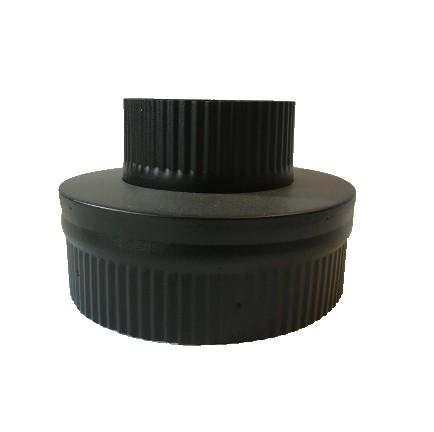 ISOTUBE Plus Steckverbindung ew 120 mm - dw 150/200 mm schwarz